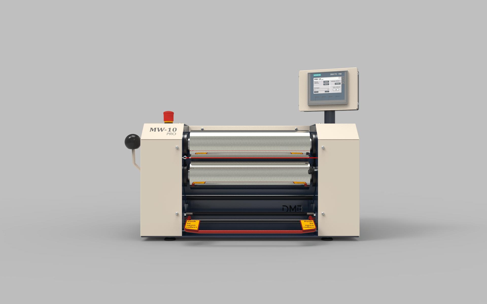 Dijatec two roll mill MW-10 pro